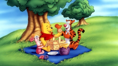 Artwork ke hře Winnie the Pooh´s Rumbly Tumbly Adventure