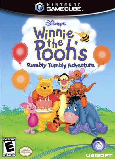 Obal hry Winnie the Pooh´s Rumbly Tumbly Adventure