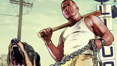 Artwork ke hře Grand Theft Auto V