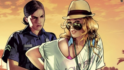 Artwork ke hře Grand Theft Auto V