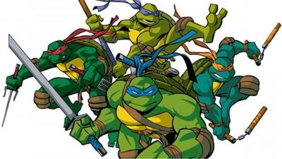 Artwork ke hře Teenage Mutant Ninja Turtles