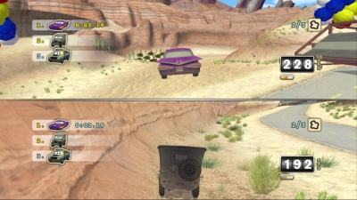 Screen ze hry Cars: Mater-National Championship