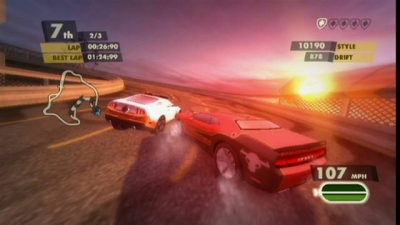 Screen ze hry Need for Speed: Nitro