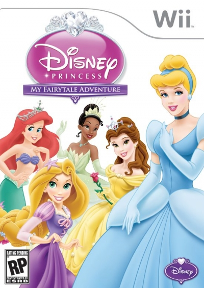 Obal hry Disney Princess: My Fairytale Adventure