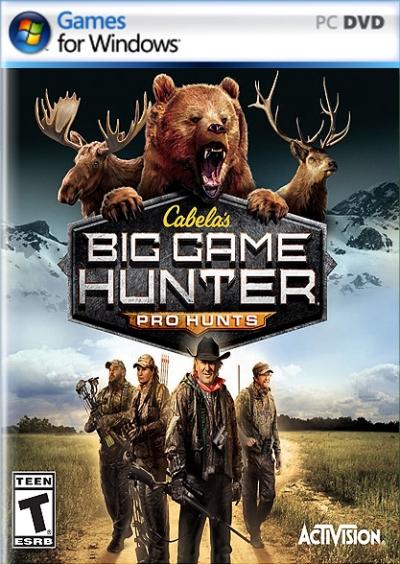 Obal hry Cabela´s Big Game Hunter Pro Hunts