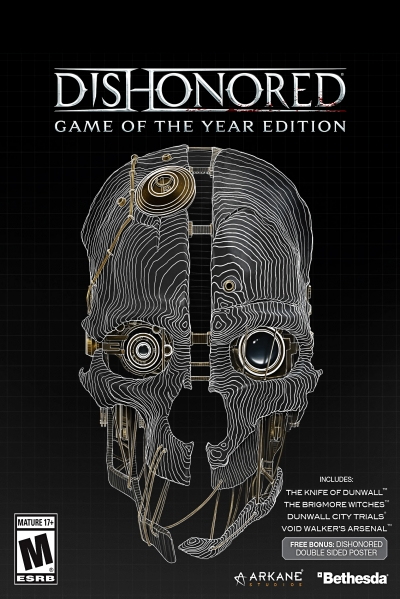 Obal hry Dishonored Game of the Year Edition