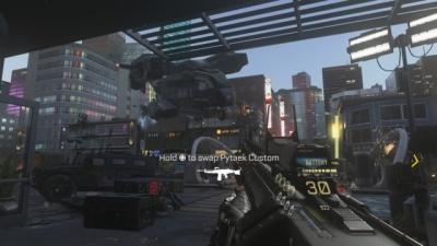 Screen ze hry Call of Duty: Advanced Warfare
