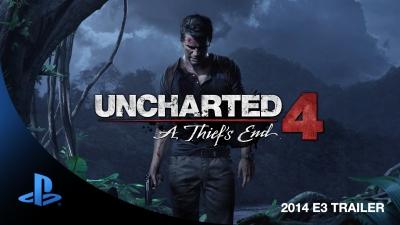 Artwork ke hře Uncharted 4: A Thief´s End