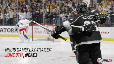 Artwork ke hře NHL 15