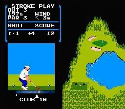 Screen ze hry Golf