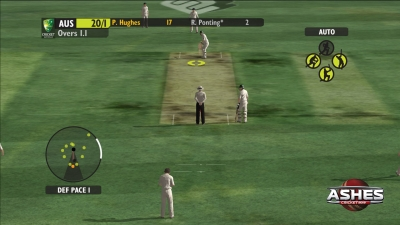 Screen ze hry Ashes Cricket 2013