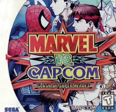 Obal hry Marvel vs. Capcom: Clash of Super Heroes