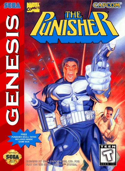 Obal hry The Punisher