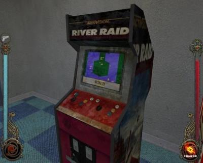 Screen ze hry River Raid