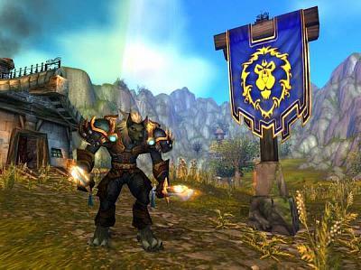 Screen ze hry World of Warcraft: Cataclysm