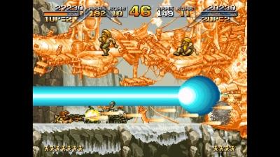 Screen ze hry Metal Slug