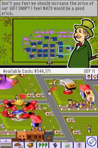 Screen ze hry Theme Park