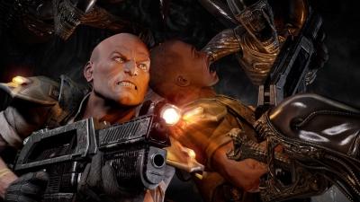 Artwork ke hře Alien Trilogy