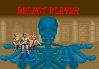 Screen ze hry Golden Axe