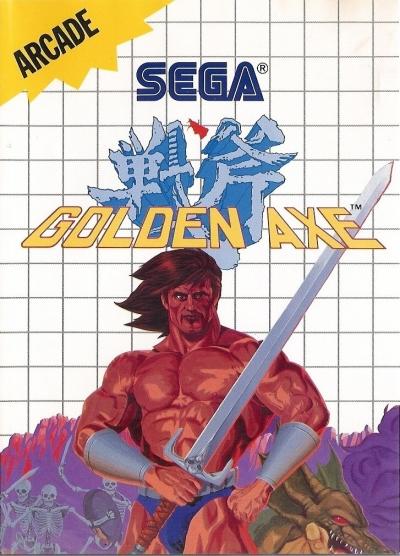 Obal hry Golden Axe