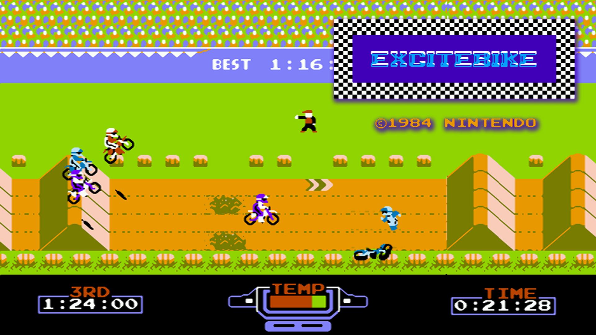 Excitebike - NES hra - CDH.cz