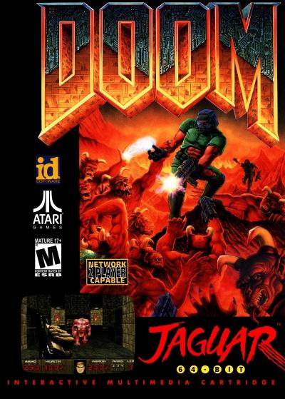 Obal hry Doom