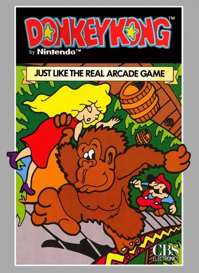 Obal hry Donkey Kong