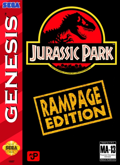 Obal hry Jurassic Park: Rampage Edition