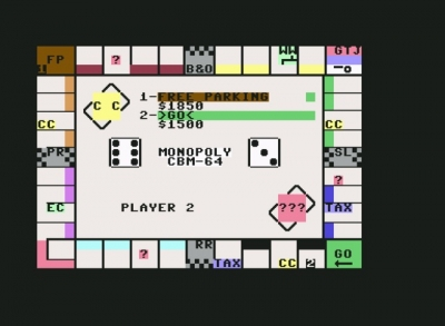 Screen ze hry Monopoly
