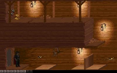 Screen ze hry Zorro