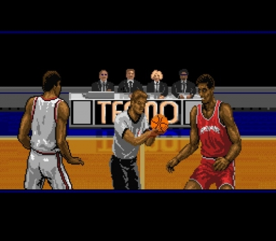 Screen ze hry Tecmo Super NBA Basketball
