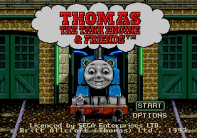 Screen ze hry Thomas the Tank Engine & Friends
