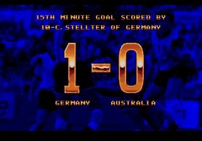 Screen ze hry World Championship Soccer II