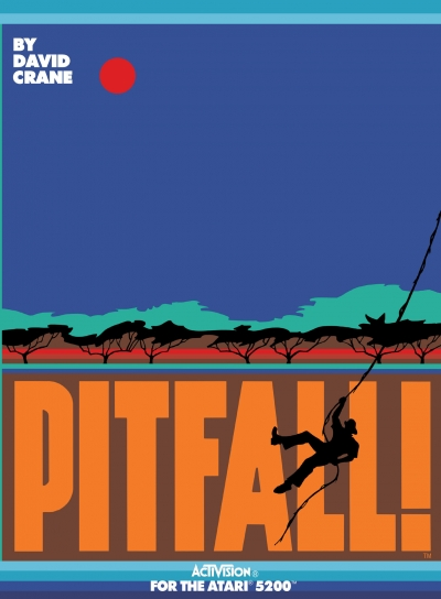 Obal hry Pitfall!
