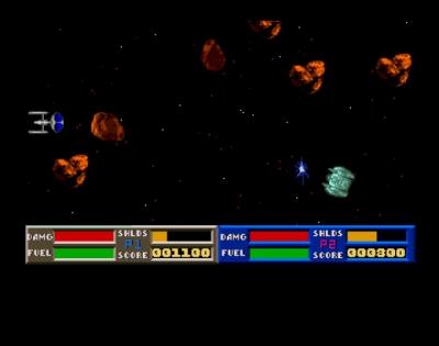 Screen ze hry Space War