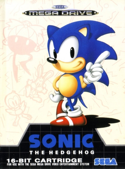 Obal hry Sonic the Hedgehog