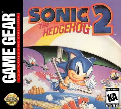 Obal hry Sonic the Hedgehog 2