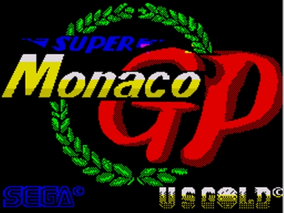 Screen ze hry Super Monaco GP