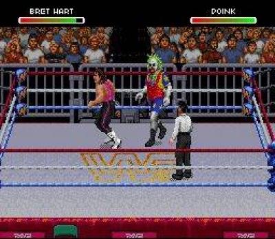 Screen ze hry WWF Raw