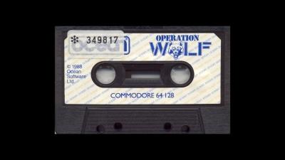 Artwork ke hře Operation Wolf