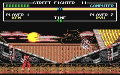 Screen ze hry Street Fighter II