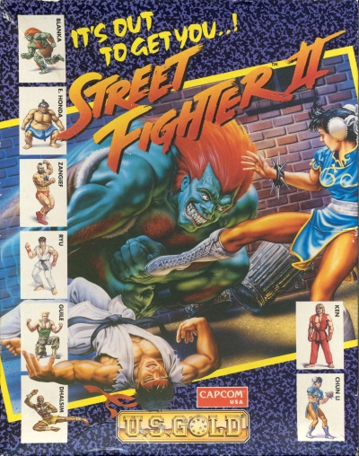 Obal hry Street Fighter II
