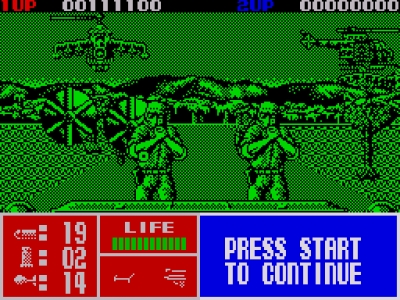 Screen ze hry Operation Thunderbolt
