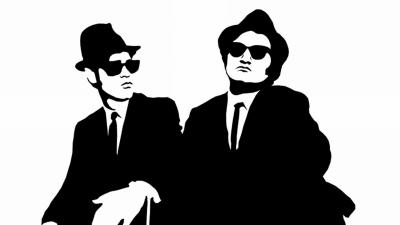 Artwork ke hře The Blues Brothers
