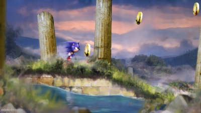 Artwork ke hře Sonic the Hedgehog 2