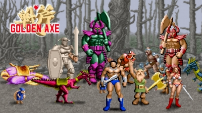 Artwork ke hře Golden Axe