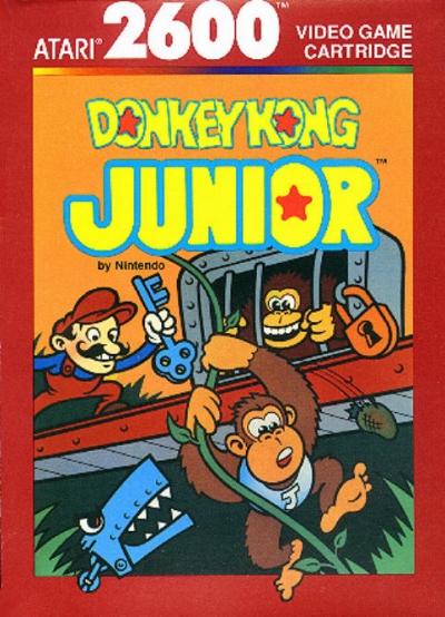Obal hry Donkey Kong Jr.