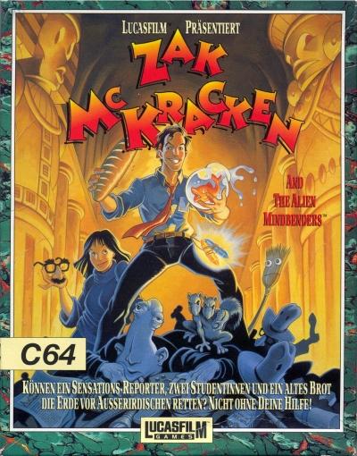 Obal hry Zak McKracken and the Alien Mindbenders