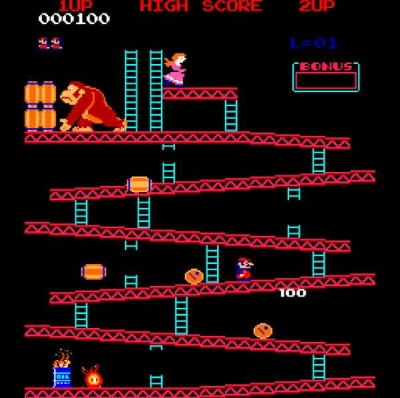 Screen ze hry Donkey Kong