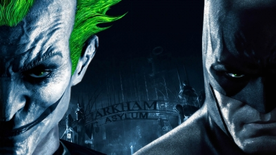 Artwork ke hře Batman: Arkham Asylum